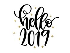 New Year 2019 : Free New years svg file for all your creative new year crafts. Use this hello 2019 file to celebrate entering the new year. Can be used with a silhouette and cricut to make some cute new years holiday party crafts. New Years Eve Shirt, New Years Shirts, Happy New Year Gif, Happy New Year Images, Shake The Dust, New Year Printables, Backyard Party Games, New Year's Eve 2019, New Year's Crafts