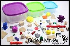 Size Sorting Busy Bag - Small, Medium and Large Sorting - Early Math Matching Activity