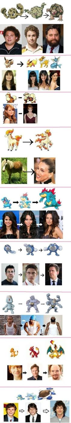 I know nothing about Pokemon, but this is funny!