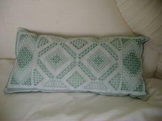 hardanger cushion