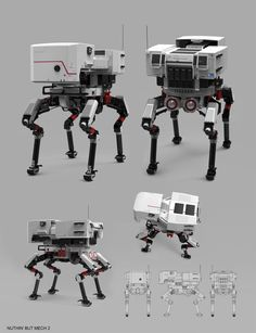 Nuthin' But Mech 2, Sam  Brown on ArtStation at…