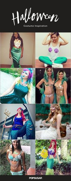 59 Mermaid Costumes You'll Flip For