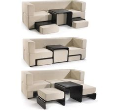 For small living rooms - perfect for NYC apartments.
