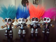 Kiss Treasure Trolls Kiss Band