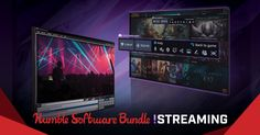 Score a bundle of streaming software and games and support charity!