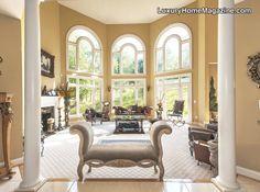 Luxury Home Magazine of Washington D.C. and Surrounding Areas #LuxuryHomes #Windows #Decor