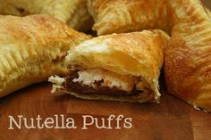 Nutella & Marshmallow Pastries