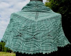 Ravelry: Bibracte Shawl pattern by Camille Coizy
