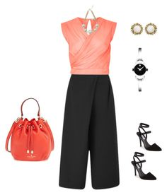 """""""How to wear culottes to work"""" by blesssy on Polyvore"""