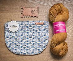 Vivienne T (@viviennetwo) on Instagram. Holland Road Yarn DualGauge Knitting Gauge, Marlow, Vivienne, Holland, Coin Purse, Wallet, Purses, Crochet, Instagram