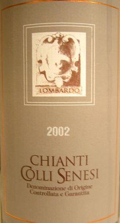 2002 Antonio Lombardo Chianti Colli Senesi Chianti Wine, Wine Making, Wine Recipes, Italy, Frame, Wine Pairings, Italia, A Frame, Frames