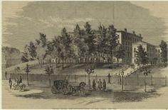 Columbia University on it's Madison Ave location