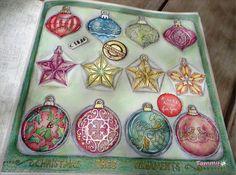 Christmas Ornaments Box , Johanna's Christmas , Johanna Basford