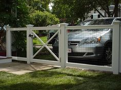 3 Confident Tips: Chicken Wire Dog Fence vermont lattice fence.Low Fence And Gates dog fence hole. Dog Fence, Front Fence, Fence Gates, Metal Fence, Hog Wire Fence, Dog Gates, Fence Art, Driveway Gate, Fence For Dogs