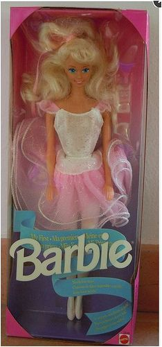 Barbie My First Ballerina (1992)