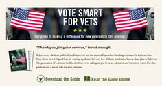 Iraq and Afghanistan Veterans of America releases a voter guide on veterans issues.     You can download the guide here:   http://iava.org/election-2012-iavas-voter-guide