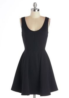 Cityscape Escape Dress. In the mood for a change of scenery, you and your closest friends head downtown for the evening. #black #modcloth