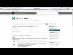 2 Sistem Gereksinimleri HD Maya 2016 Eğitim | Solidworks Eğitim - Cinema 4D Eğitim - Autocad Eğitim - Revit Eğitim - 3Ds Max Eğitim - Carrier Hap Eğitim