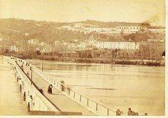 .. Magnífica vista da Ponte do Ó, captada a partir das imediações da antiga Cadeia do Largo da Portagem
