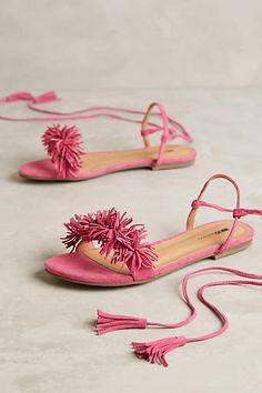 Matiko Delilah Sandals Pink Sandals #anthrofave