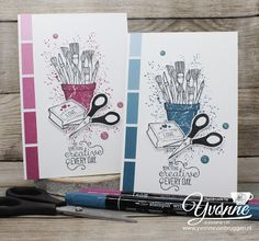 ......Yvonne is Stampin' & Scrapping.....: Stamp Impressions Bloghop