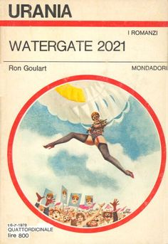 753 	 WATERGATE 2021 16/7/1978 	 THE PANCHRONICON PLOT (1977)  Copertina di  Karel Thole 	  RON GOULART