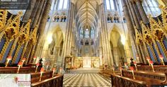 Street View enters London's majestic Westminster Abbey