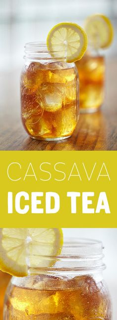 Sweeten your iced tea naturally with Madhava Organic Cassava for the ideal back to school drink.