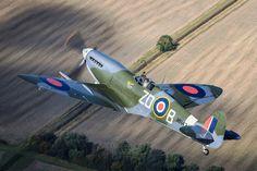 Supermarine Spitfire Mk IX M434 (BZ-D) Harry Measures