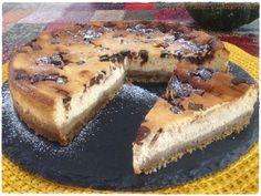 Cheesecake di zucca e triplo cioccolato: imperdibile accostamento da capogiro!! <3