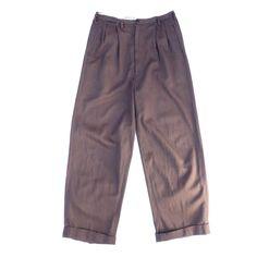 ビンテージ ギャバパンツ【1950's】VINTAGE GABADINE PANTS - RUMHOLE beruf online store
