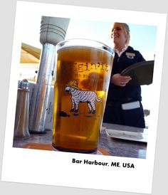 My favorite blueberry beer. Can longer find it in GA though. Darn.   Bar Harbour, Blueberry Ale