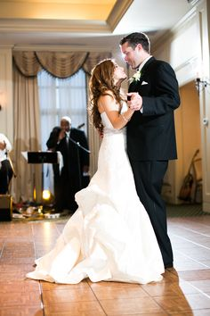 """The Matthew Christopher """"Poppy"""" Gown / First Dance at Rehoboth Beach Yacht and Country Club"""