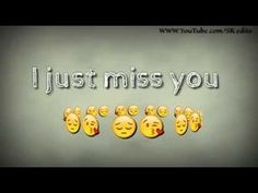 Cute missing you quotes, i love you song, missing you love, i miss Cute Missing You Quotes, Cute Miss You, I Love You Song, Just Missing You, I Miss You Quotes, I Miss U, Love Quotes For Him, Love Songs, Friendship Video