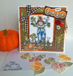 Happy Fall! Stamp of the month set, Close To My Heart