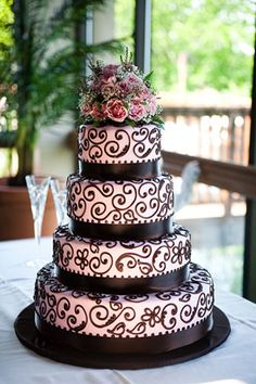 Frosted Art bakes delicious and beautiful cakes!  I've never been disappointed!