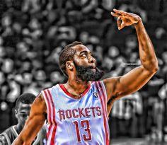 Espectacular James Hardem [jugador de los Houston Rockets]