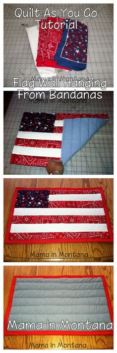 Quilt As You Go Tutorial - Cool way to make a quilt!
