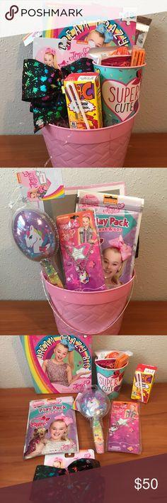 a686ac8fa9f1f Jojo Siwa Easter Basket 1 Jojo Siwa Black Paint Splatter Hairbow 1 Jojo Siwa  Play Pack
