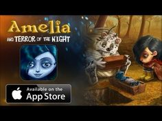 Amelia and Terror of the Night - interactive book App for iPad / iPhone / iPod