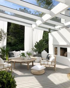 backyard landscape design Would you like to make an outdoor oasis? Or on the other hand, maybe, complete off your porch? Outdoor flooring improves your space and assumes an im House Exterior, House Design, Outdoor Decor, Outdoor Living Rooms, Outdoor Flooring, Outdoor Living, Outdoor Design