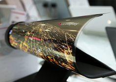 Noticias de Android: LG presume de panel flexible de 18 pulgadas en ple...