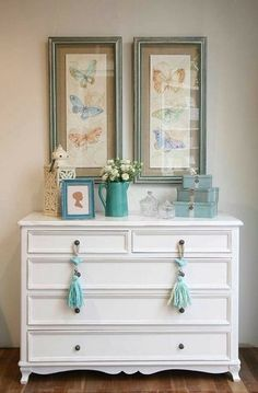 little corners Baby Care baby care Upcycled Furniture, Diy Furniture, Decoration Buffet, White Painted Furniture, New Room, Furniture Makeover, Home Interior Design, Diy Home Decor, Bedroom Decor