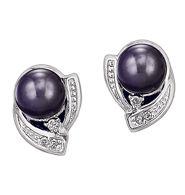 Sterling Silver Freshwater Pearl Earrings