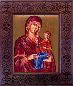 Orthodox Christian Icons in Catalog of St Elisabeth Convent St Anne, Orthodox Christianity, Orthodox Icons, Byzantine, Mona Lisa, Saints, Artwork, Anna, Painting