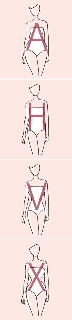 """""""Steht mir dieses Kleid?"""" - wahrscheinlich hat sich jede von uns diese Frage schon das eine oder andere Mal gestellt. Deshalb präsentieren wir Ihnen im Magazin tolle Kleider passend zu den verschiedenen Figurtypen. Welcher Figurentyp sind Sie: A, H, V oder X?"""