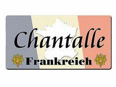 Länder - Nummernschild im Format 30x15 cm - Frankreich - Hausnummern und Schilder online kaufen