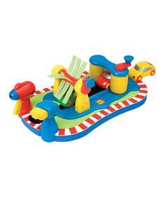Look what I found on #zulily! Car Wash Play Set by Rub-a-Dub #zulilyfinds