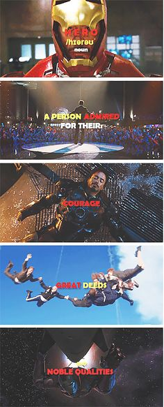 Tony Stark = HERO