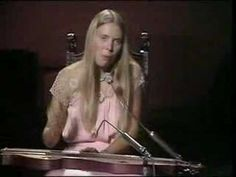 Joni Mitchell-California (BBC) This is my all-time favourite music video- I love this song and Joni- she's so lovely.